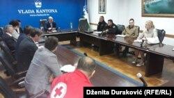 Sastanak Operativne grupe za koordiniranje aktivnosti i nadzor nad migrantskom krizom