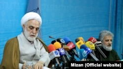 First deputy and the spokesman of Iran's Judiciary, Gholamhossein Mohseni-Ejei, on Sunday January 22, 2017.