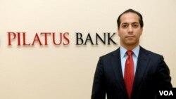 علی صدر هاشمینژاد، مدیر بانک پیلاتوس مالت