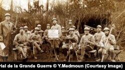 Французские солдаты Первой мировой. Фото предоставлено экспозицией Historial de la Grande Guerre © Y.Medmoun
