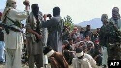 Militantë talibanë, foto nga arkivi