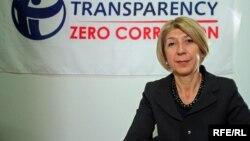Слаѓана Тасева, шеф на Транспаренси Интернејшнал Македонија.
