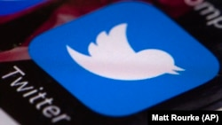 The Twitter app on a mobile phone - generic