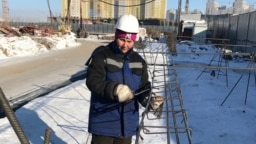 Kazakhstan - Malika Iskakova, builder from Astana. 03Mar2018.