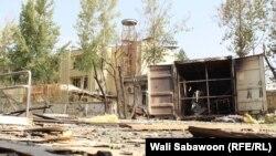 Кабулдагы Америка университетының шартлаудан соң күренеше.