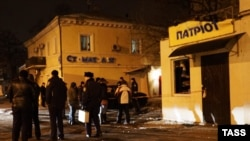 "На месте взрыва у магазина ""Патриот"" в Одессе"