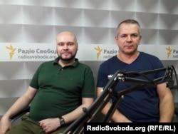 Олексій Сокирко (ліворуч) та Тарас Чухліб (праворуч)