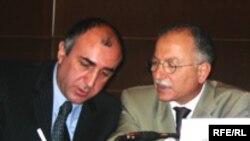 Elmar Məmmədyarov və Ekmeleddin İhsanoğlu, Bakı, 18 iyun 2006