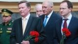 На церемонии открытия памятной доски в честь генерал-лейтенанта русской армии Густава Маннергейма