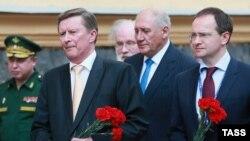 Церемония открытия мемориальной доски Маннергейму