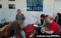 Абмеркаваньне кнігі пра віцебскую мастацкую школу