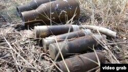Донбассты тазалоо учурунда табылган миналар