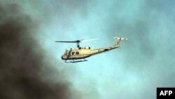 وکیل: عملۀ هلیکوپتر پاکستانی تا هنوز رها نشدهاند