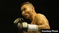 Казахстанский боксер-профессионал Канат Ислам.