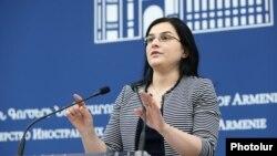 Пресс-секретарь МИД Армении Анна Нагдалян, Ереван, 5 февраля 2019 г.