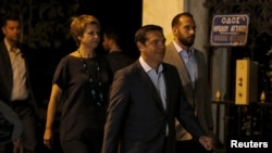Алексіс Ципрас вирушає до президента Греції, щоб подати заяву про відставку, Афіни, 20 серпня 2015 року