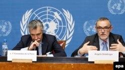 Схожие демарши случаются в Женеве каждый раз после принятия резолюции на Генассамблее ООН. «При оценке сегодняшней ситуации следует держать в голове, что происходящее в Женеве – это лишь верхушка айсберга», – сказал на пресс-конференции спецпредставитель ОБСЕ Анджело Гнедингер