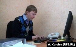 Координатор сочинської приймальні «Меморіалу» Семен Симонов (фото Андрія Корольова)
