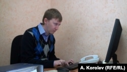 """Координатор сочинской приемной """"Мемориала"""" Семен Симонов. Фото А.Королева"""
