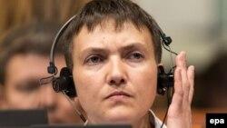 Надія Савченко на сесії ПАРЄ