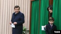 میرضیاییف از نامزدان عمده درین انتخابات به حساب میآید.