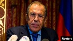 Ресей сыртқы істер министрі Сергей Лавров. Берлин, 18 тамыз 2014 жыл.