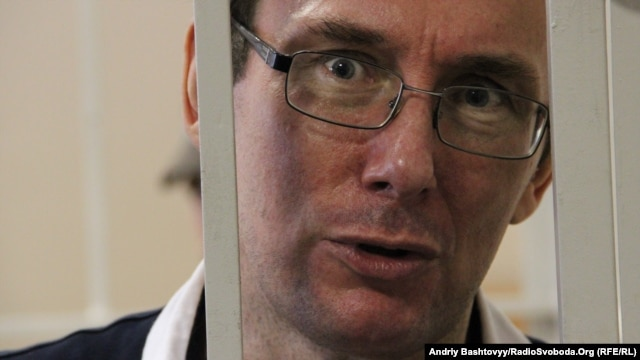 Yuriy Lutsenko denies any wrongdoing, saying his imprisonment is politically motivated.