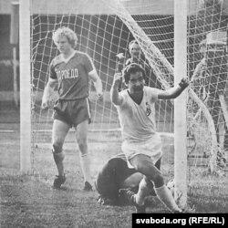 Эмоцыі «народнага футбаліста»