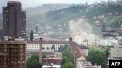 Granatiranje Sarajeva tokom opsade, 1992. godina