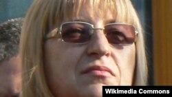 Țețka Țaceva, președinta Parlamentului