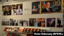 Propagandă și la standul azer de la Tîrgul Internațional de carte de la Frankfurt pe Main