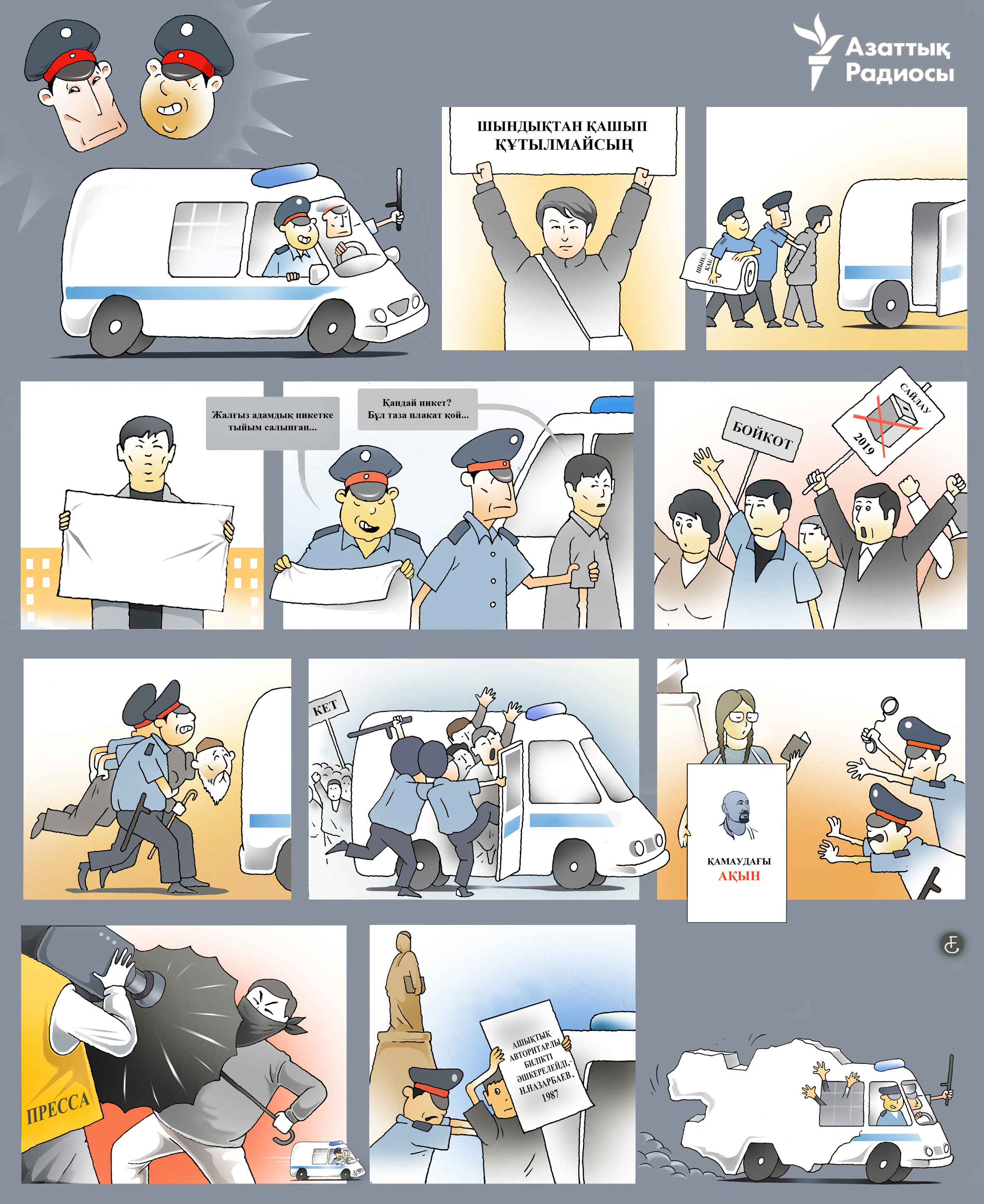 infographic about police