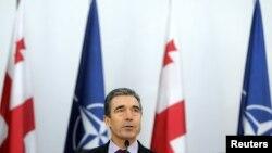 NATO baş katibi Anders Foq Rasmussenin Gürcüstana rəsmi səfəri