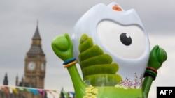 В дни Олимпиады в Лондоне. Июль 2012 года.