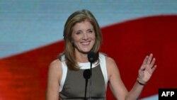 Кэролайн Кеннеди, дочь бывшего американского президента Джонна Кеннеди.