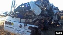 Одна з автокатастроф у Росії з участю автобуса, архівне фото