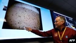 У НАСА демонструють перший знімок після посадки зонда на Марс, 26 листопада 2018 року
