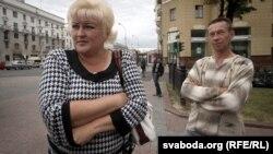 Алена і Андрэй Сурапіны, бацькі Антона Сурапіна.