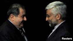 سعید جلیلی در دیدار با هوشیار زیباری، وزیر خارجه عراق