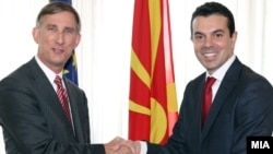 Macedonia-U.S. Ambassador to Macedonia Volers Paul met with Foreign Minister Nikola Popovski