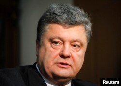 Ukrainian President Petro Poroshenko is keen to avoid the appearance of using his post to boost his financial holdings.