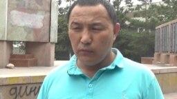 Орынбек Коксебек, бывший узник «центра политического перевоспитания» в Китае.