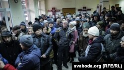 "Protest la Homel după o condamnare pentru ""parazitism social"""