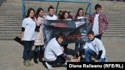 Membrii Consiliului Local al Copiilor şi Tinerilor din Chişinău