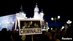 Prošle godine održani su protesti protiv ekshumacije Frankovih posmrtnih ostataka