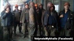 Стихийная забастовка на шахте в Угледаре