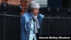 Theresa May, 18 ianuarie 2019
