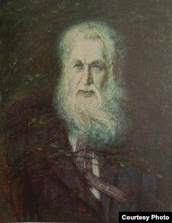 Н. Шчасная. Партрэт Уладзімера Дубоўкі. 1973 г. (Нац. бібл. Беларусі)