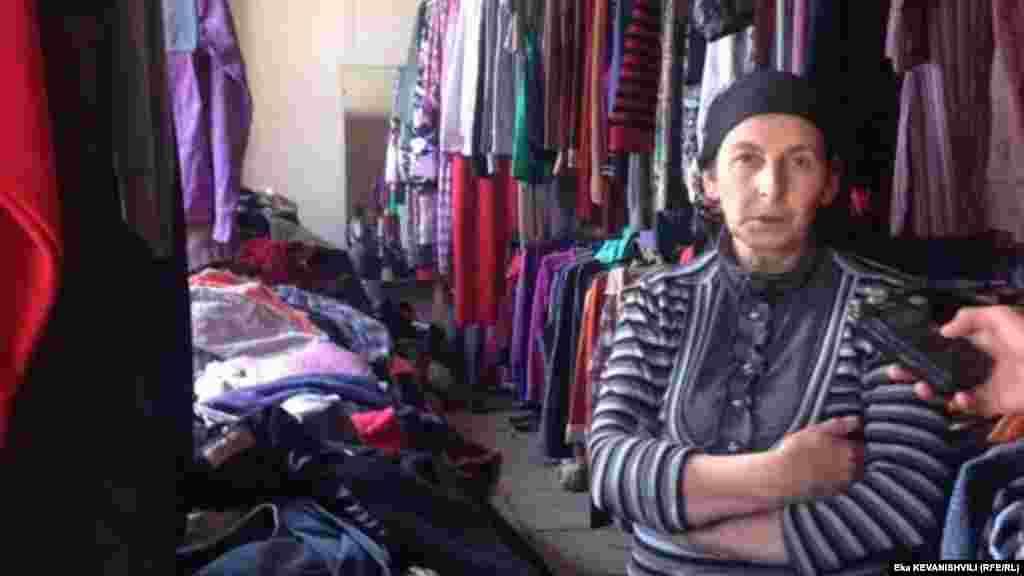 მეორადი ტანსაცმლის მაღაზიის მეპატრონე ნათელა