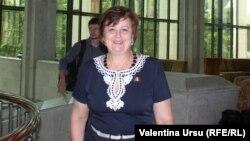 Veronica Abramciuc astăzi în Parlament